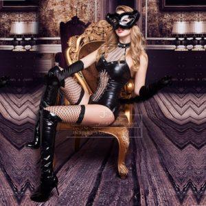 disfraz de gata mujer